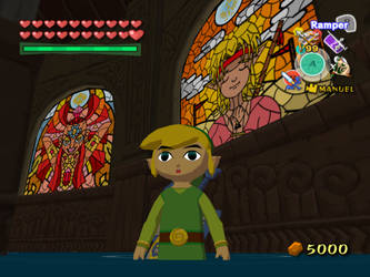 The Wind Waker (Kasuto stained glass)