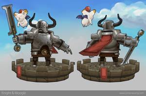 Knight and Moogle - Turn Around by Dvolution