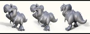 Little Rex Sculpt