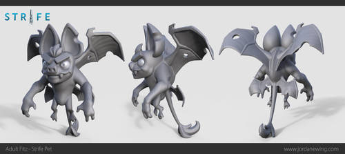 Adult Fitz - Strife Pet - Sculpt by Dvolution