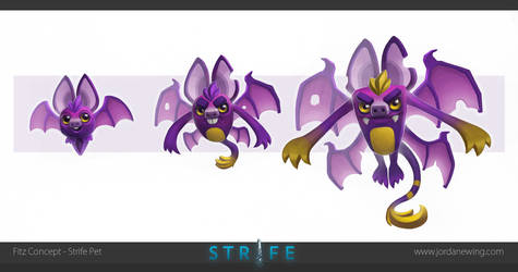 Fitz Concept - Strife Pet by Dvolution