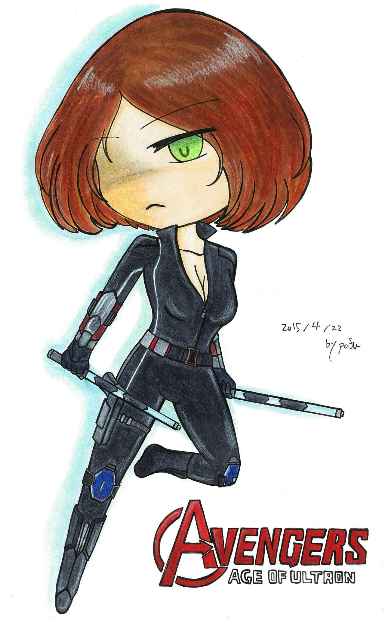 Avengers Age of ultron -Black Widow by Lovivian