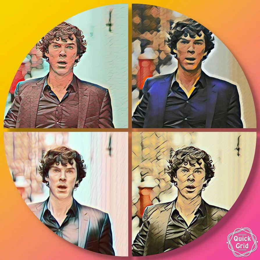 Sherlock Pop Art by MarcieOrcutt