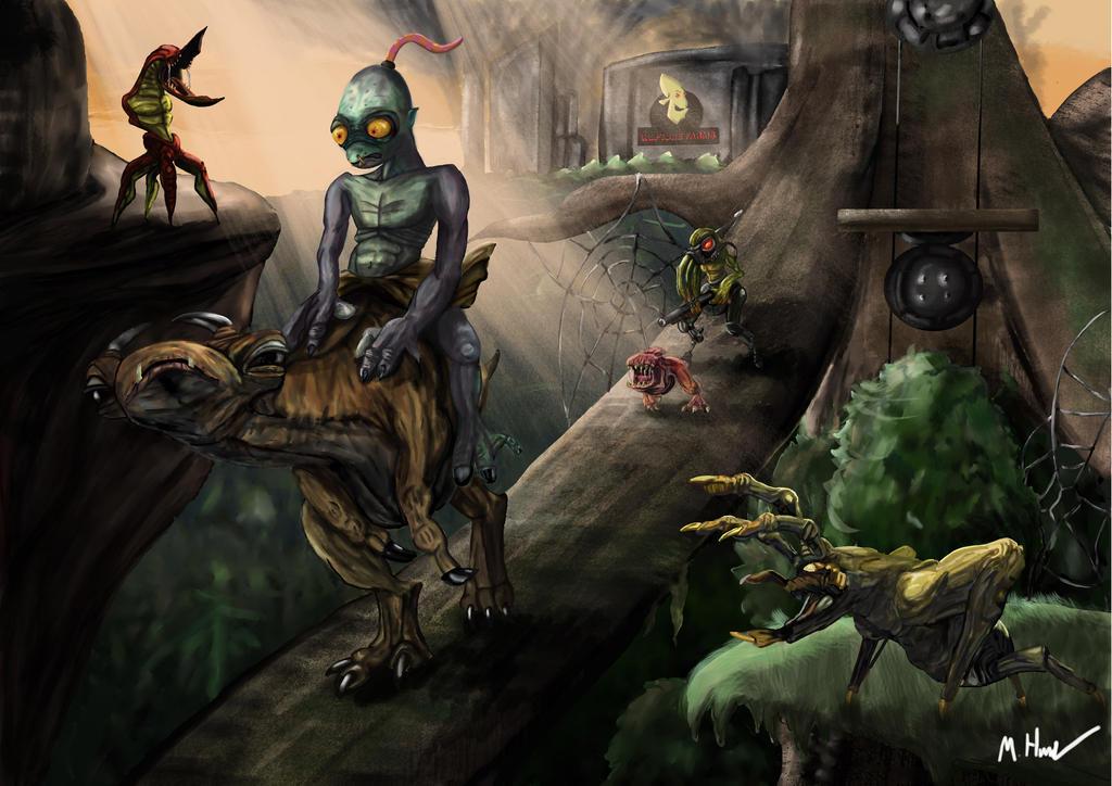 Oddworld by TheRaRaRabbit