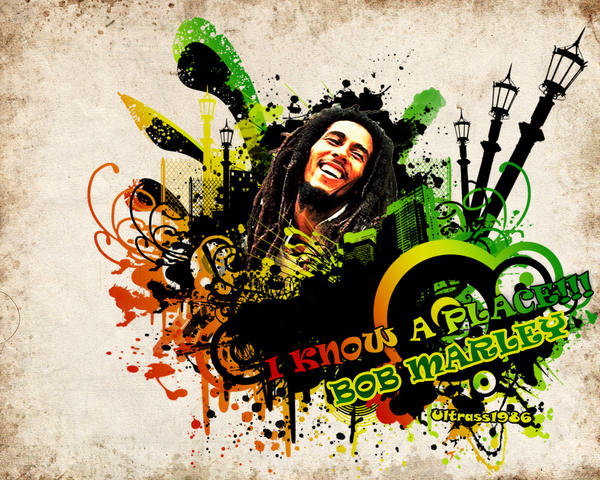 Bob Marley by Ultrass1986