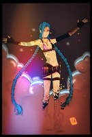 LoL // Jinx by CaptainY