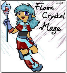 Flame Crystal Mage