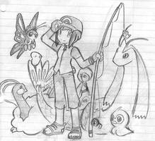 Pokemon Trainer Haylee by Allelementalfaerie