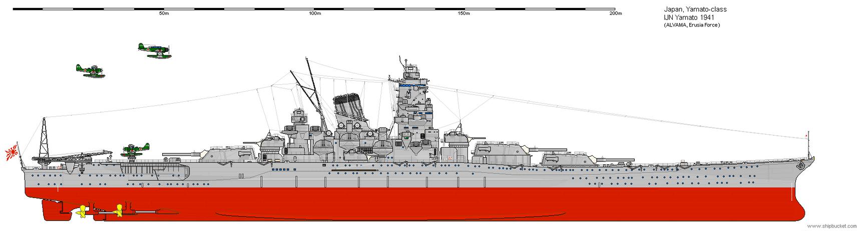 IJN Yamato 1941 by Erusia-Force on DeviantArt