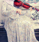 the violinist by limeflowery