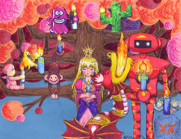 Melodic Menorah of Life by Mystic-Fire