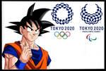 Son Goku Tokyo 2020 wallpaper 1