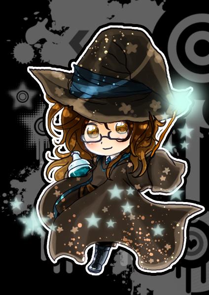 Chibi Magician ID by GYRHS