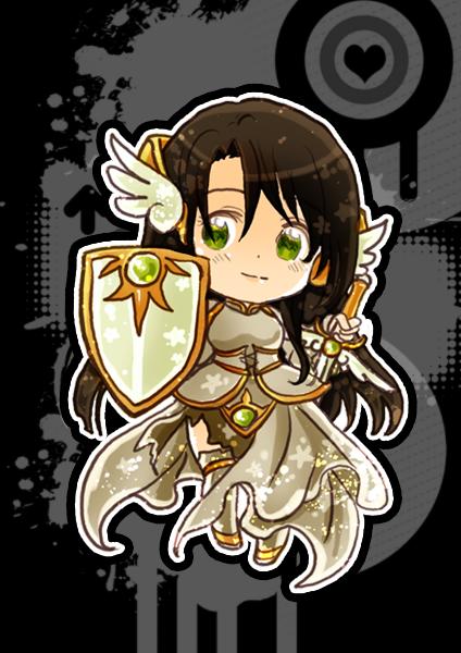 Chibi Paladin ID by GYRHS
