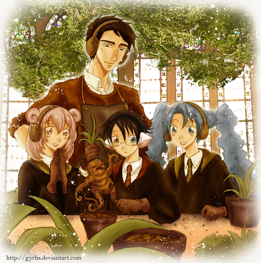 Herbology Class by GYRHS