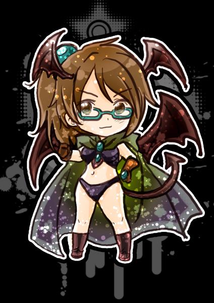 Chibi Succubus ID by GYRHS