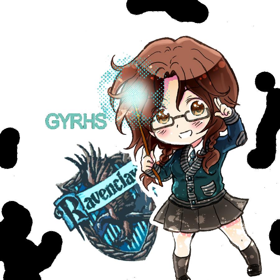 Hogwarts ID: spring by GYRHS
