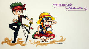 It's a Strong World Out There :) by reb-chan