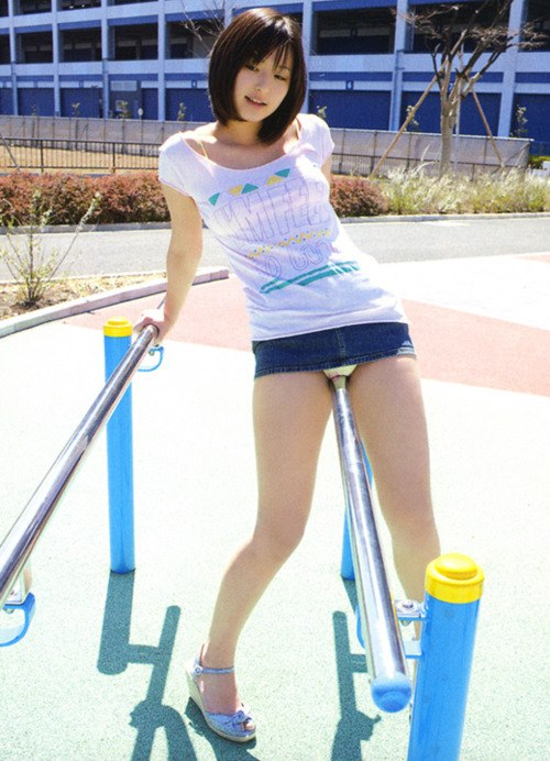 Chinese girls upskirt