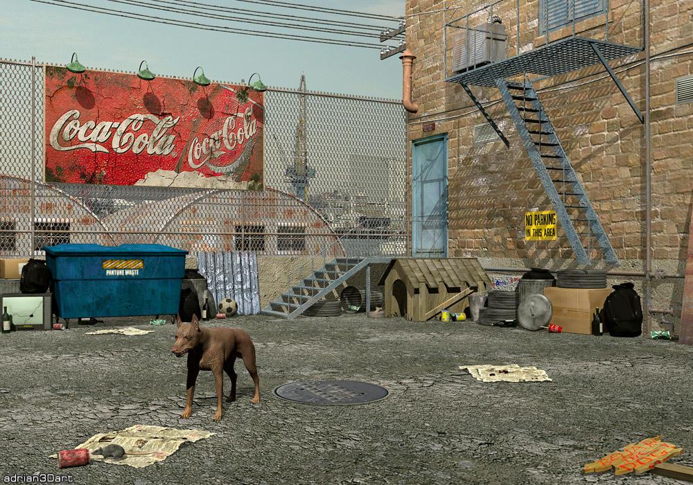 Beware Of The Dog by adrian3Dart
