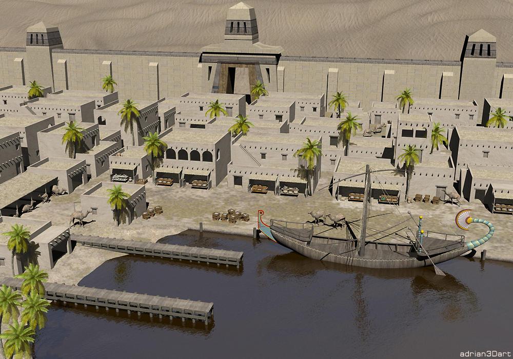 Egyptian City