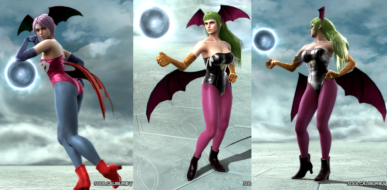 SoulCalibur V Morrigan and Lilith by Armoun ...  sc 1 st  DeviantArt & SoulCalibur V: Morrigan and Lilith by Armoun on DeviantArt
