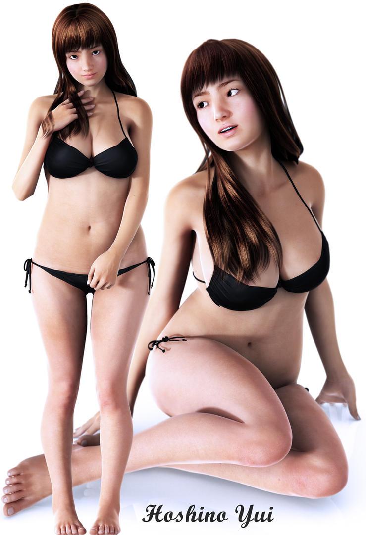 Hoshino Yui by Armoun