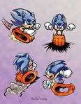 Sonic Oval-Running References