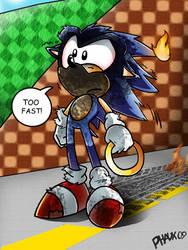 CE:  'Toony' Sonic by KaiThePhaux