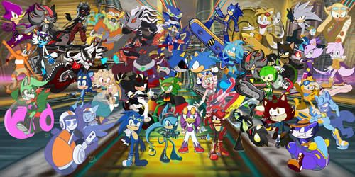 HUGE! Sonic Riders Event Collab by KaiThePhaux