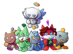 All my gals as chao~
