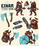 Reference Sheet: Einar the Ox