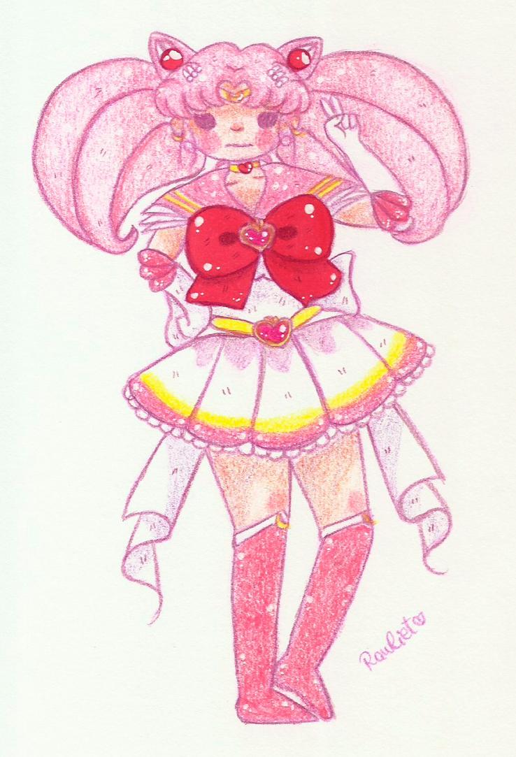 Super Sailor Chibi Moon by Rawliet