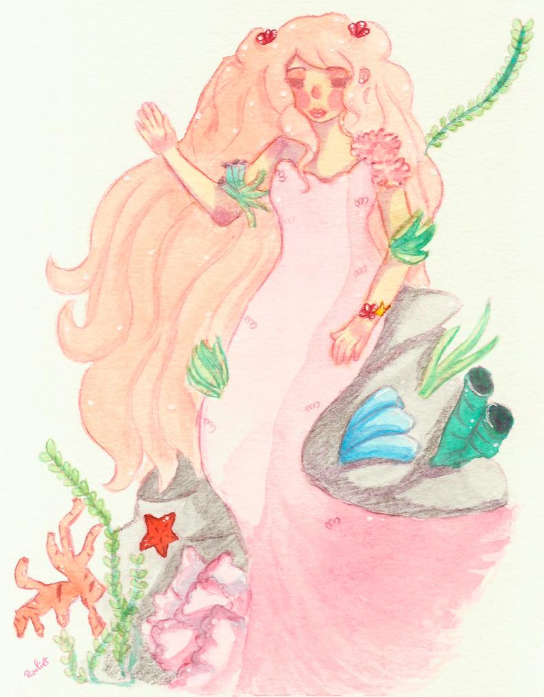 Coral Mermaid by Rawliet