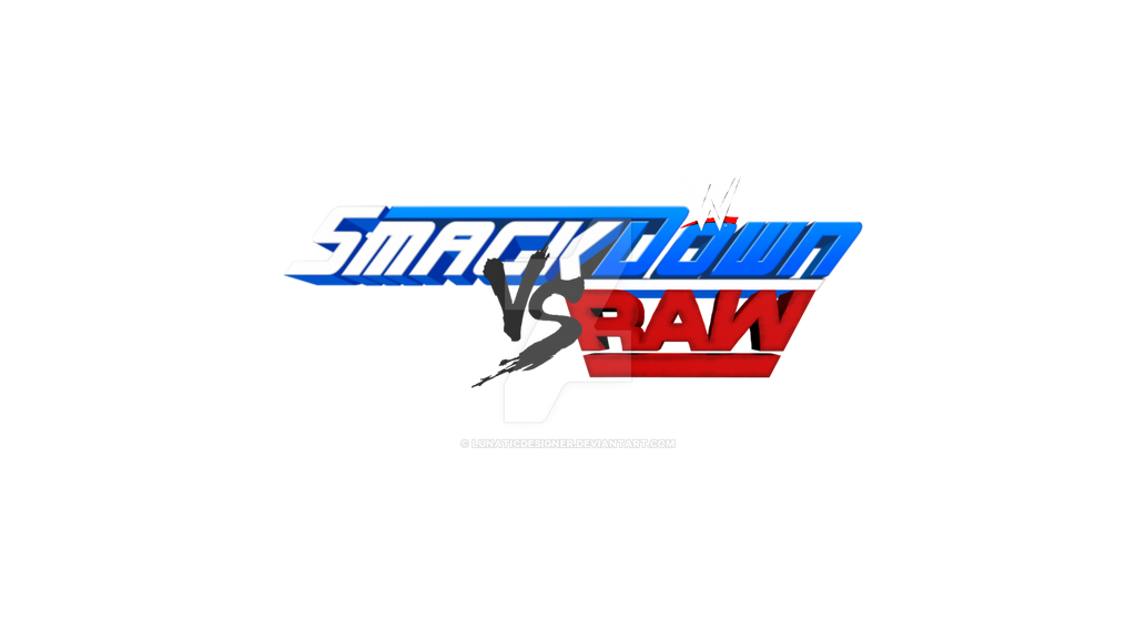 Wwe Smackdown Vs Raw Logo By Lunaticdesigner On Deviantart