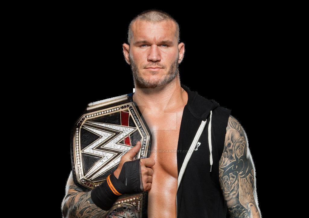 Randy Orton WWE Champ by LunaticDesigner - 611.1KB