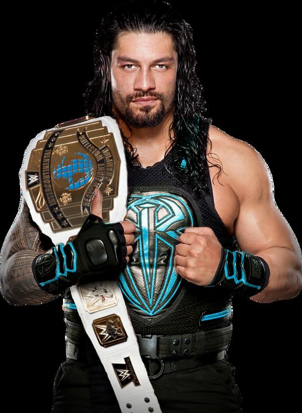 Roman Reigns IC Champion 2017 by LunaticDesigner on DeviantArt