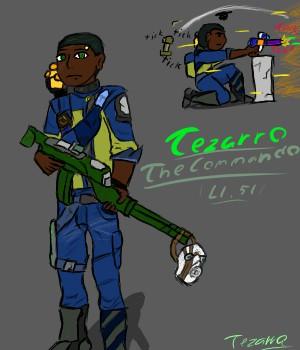 Tezarro the commando by TezarroEX
