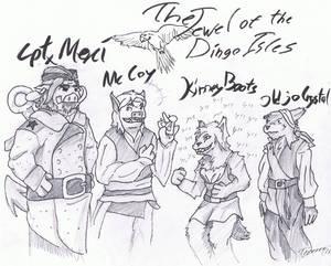Buffalo Wizard fan art: The Boceo crew