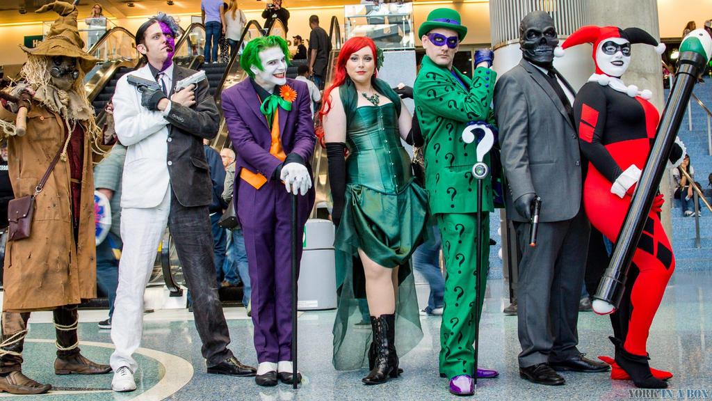 Gotham Rogues Gallery by Lady-Ha-ha