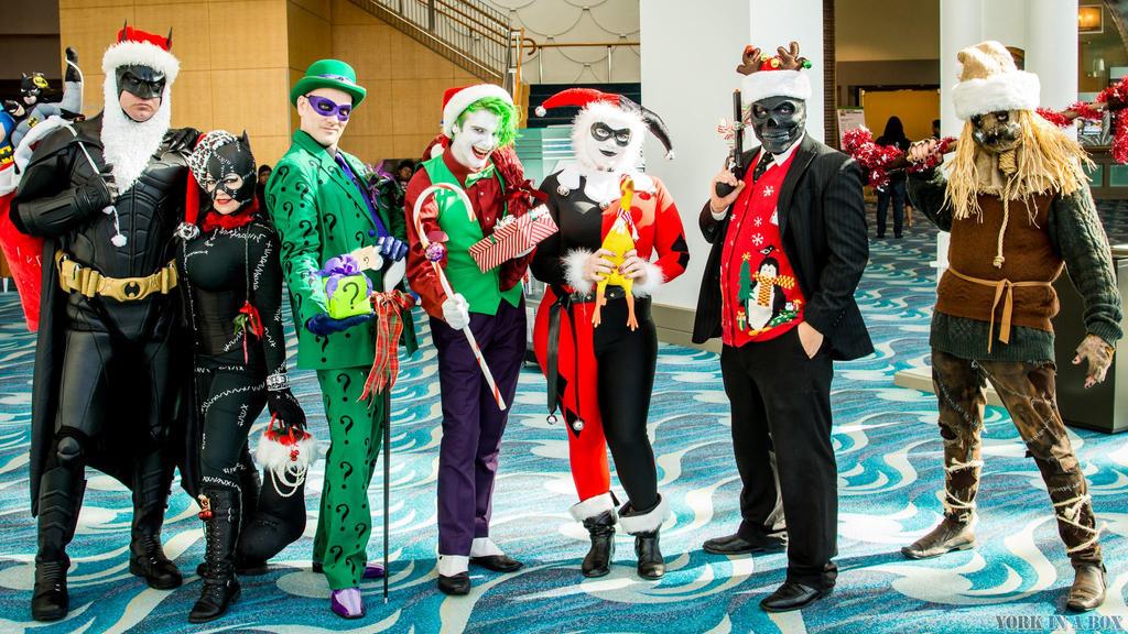 Gotham Christmas Rogues by Lady-Ha-ha
