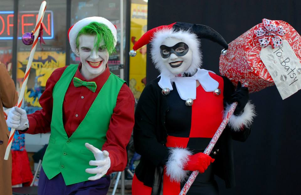 Harley Quinn and the Joker ready for Christmas by Lady-Ha-ha on ...