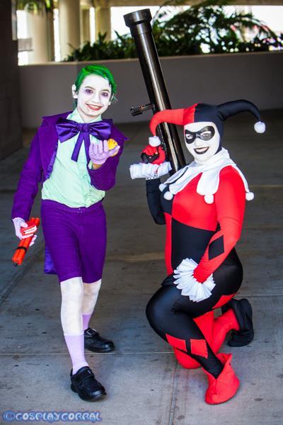 Joker Jr. and Harley Quinn 19 by Lady-Ha-ha