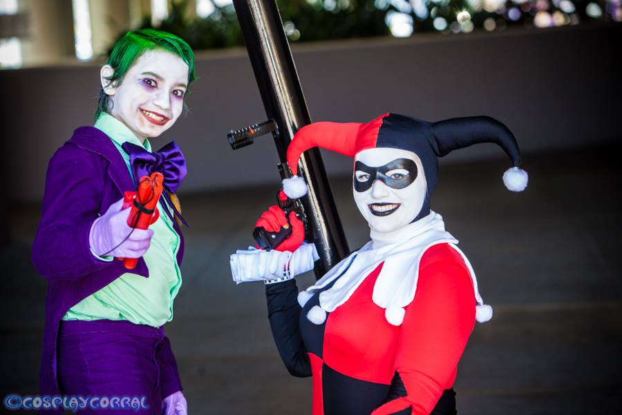 Joker Jr. and Harley Quinn 21 by Lady-Ha-ha