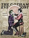 Joker and Harley Quinn - Gotham Evening Post