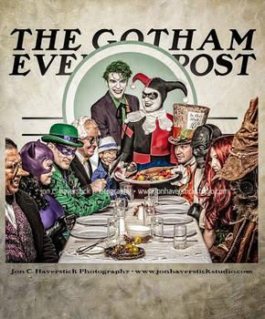 Gotham Evening Post - Bat Villains Dinner