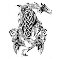 Triple Dragon by Indirie