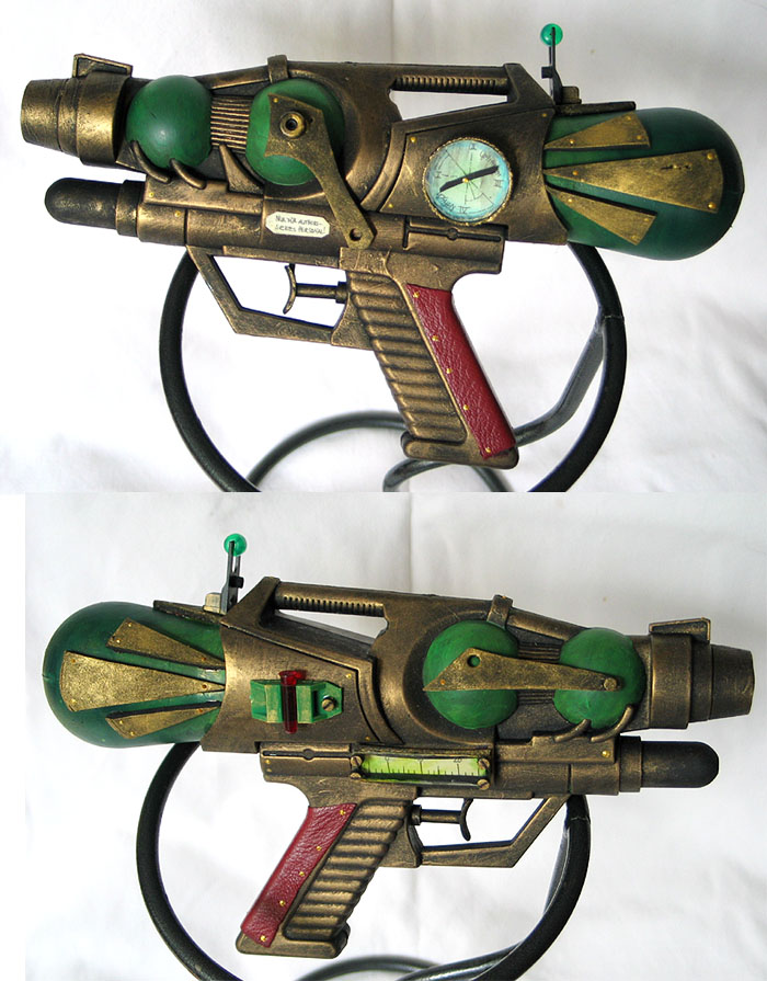 Bioshocker - Steampunk Pistol by Indirie