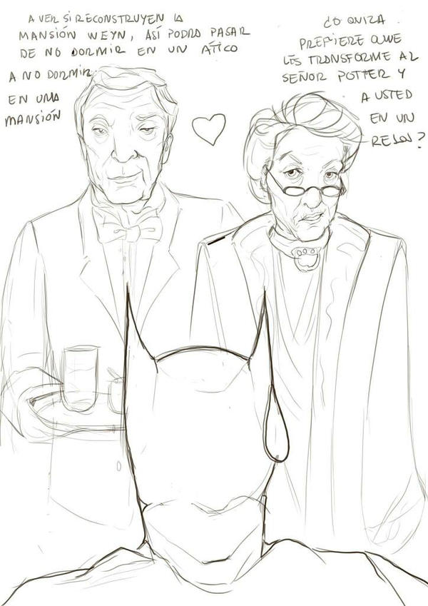 Alfred and Macgonagall perfect couple  by LunaEvaYG