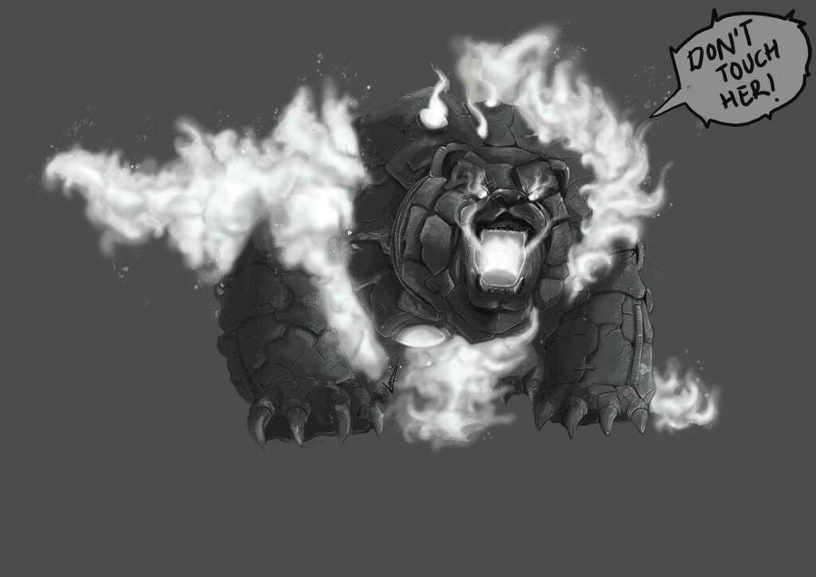 robot bear by LunaEvaYG